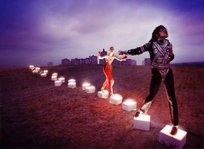 Δημιουργία του Ντέιβιντ Λασαπέλ, με βήματα moonwalk